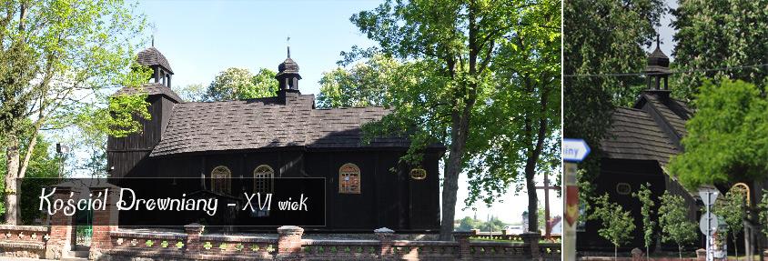 Kosciol w Łubowie
